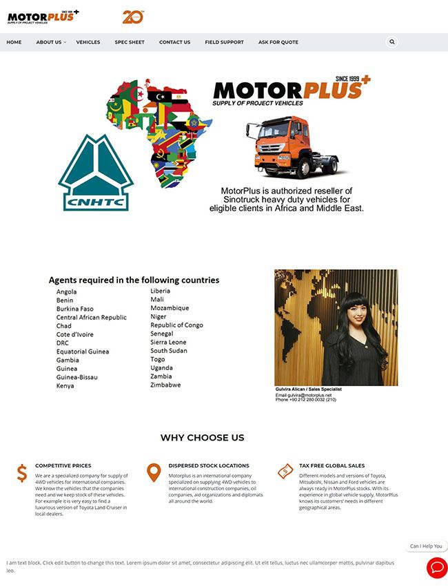 Motorplus Web Design Phuket